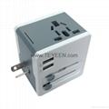 多國通用USB充電禮品插頭 DY-015 11