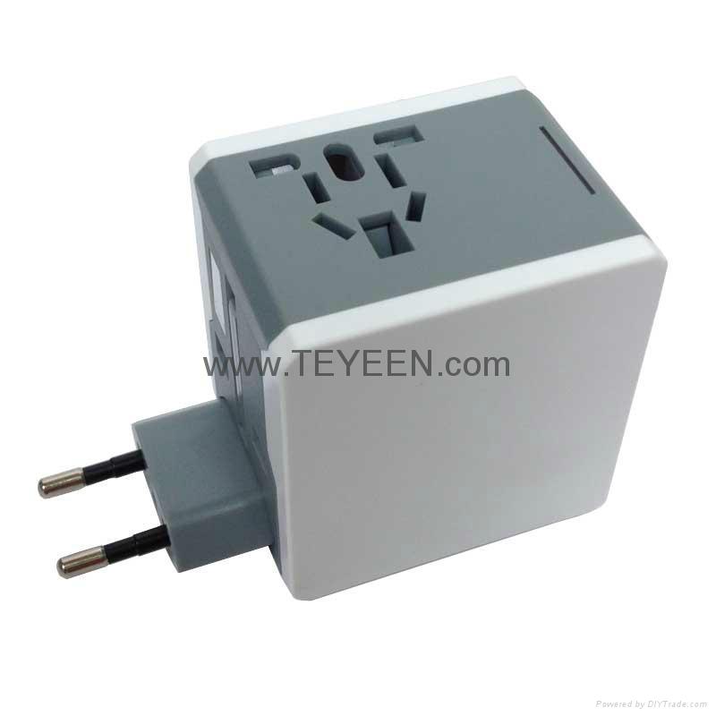 多國通用USB充電禮品插頭 DY-015 13