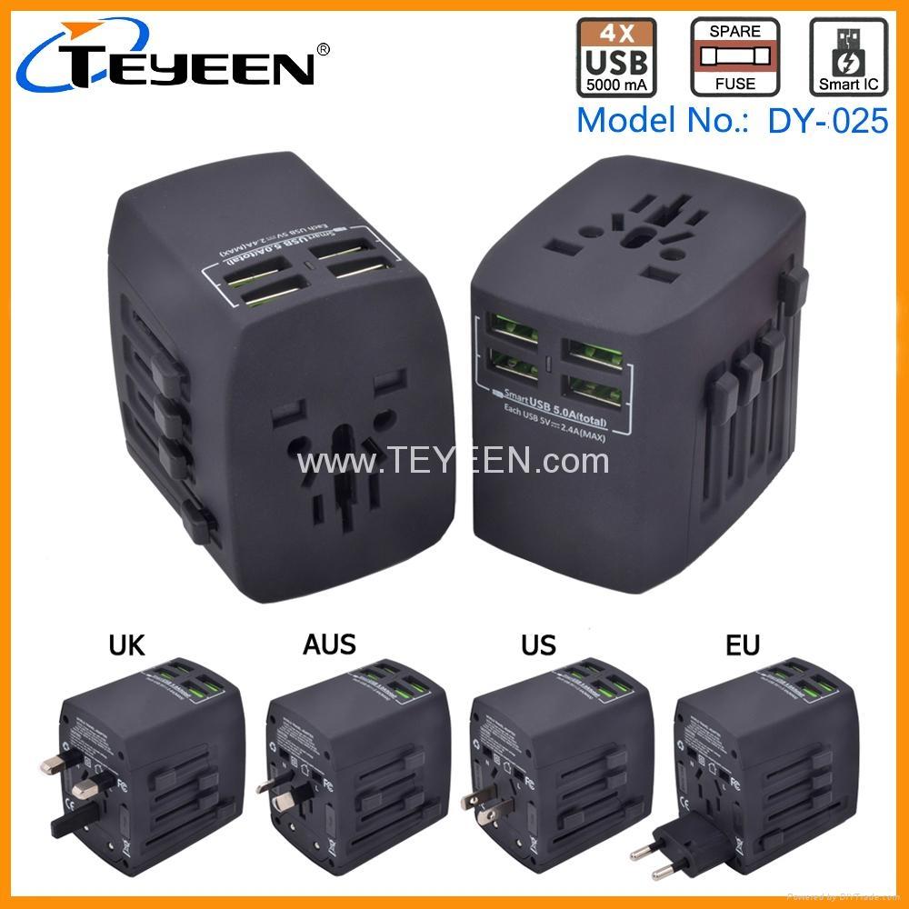 4 USB 全球旅行转换插座 DY-025 3