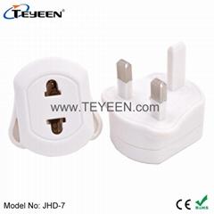 英標轉換插座(帶保險絲) JHD-7