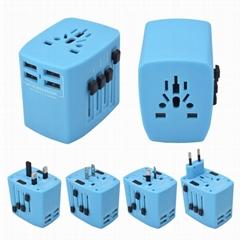 4 USB 全球旅行轉換插座 DY-025