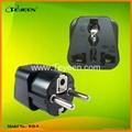 德法式转换插头(Φ4.8mm) WD-9