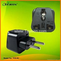 歐規轉換插頭(Φ4.0mm) WD-9C