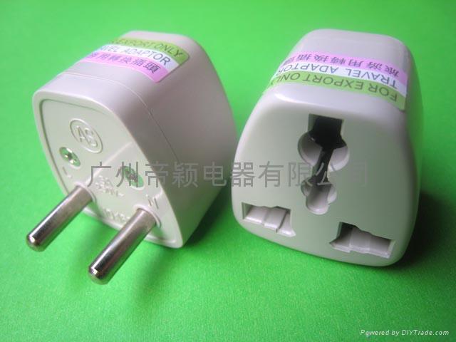 歐規轉換插頭(Φ4.8mm) DY-163 1
