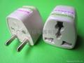 歐規轉換插頭(Φ4.8mm)