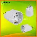 GS/Europe To Italy Plug Adapter