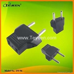 USA to Europe Plug Adapter  (DY-56)