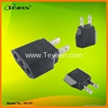 Europe To USA Plug Adapter  (DY-57)