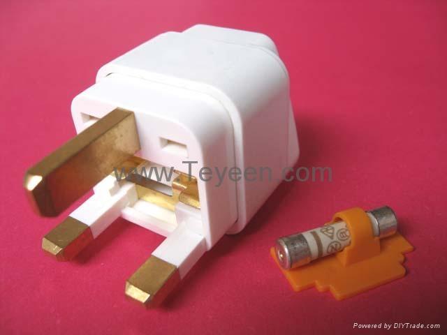 英式轉換插頭(帶保險管) WD-7F 3