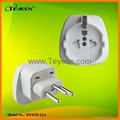 EU Universal To Switzerland Plug Adapter