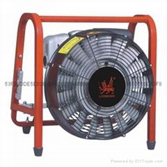 移動式正壓式汽油渦輪消防排煙機