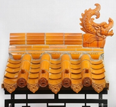 Chinese ceramic roof tiles for arch gate
