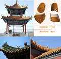 Asian Glazed Roof Tiles for Chinese garden pagoda 1