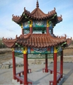 Asian Glazed Roof Tiles for Chinese garden pagoda 4