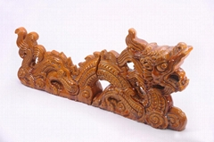 Chinese dragon roof tiles and roofing ornaments