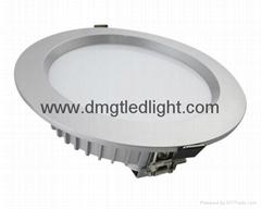 """6""""/8"""" 20-40W IP65 Waterproof LED Down lamp"""
