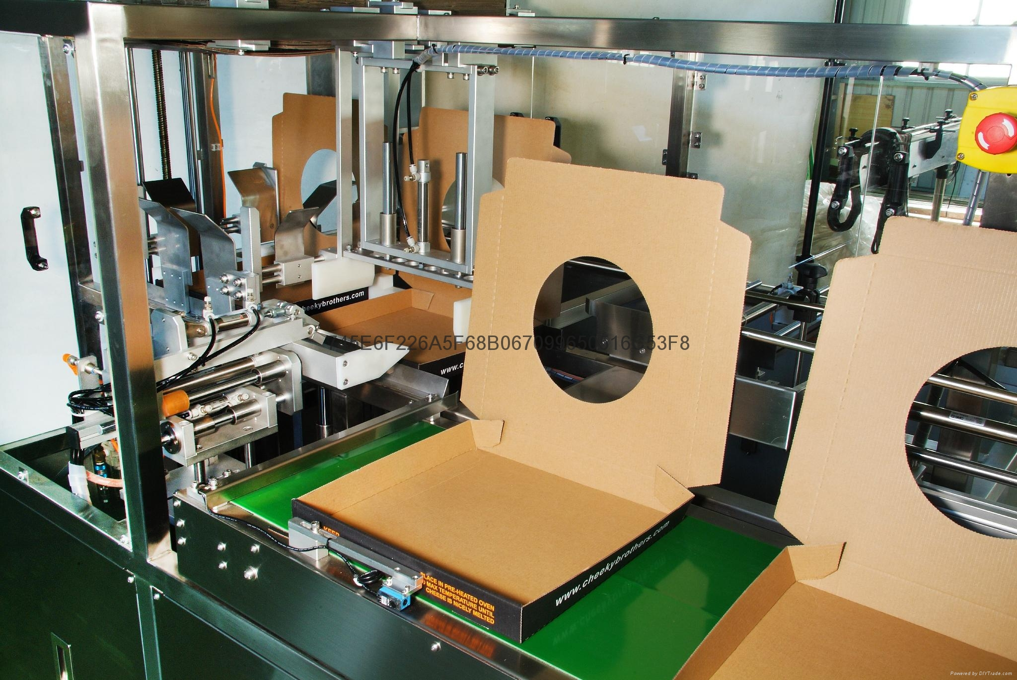 Single -Side Auto Folding Machine For Pizza boxes  2