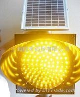 太陽能LED黃閃燈