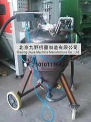 High-pressure dustlessblasting  mobile wet sandblasting machine