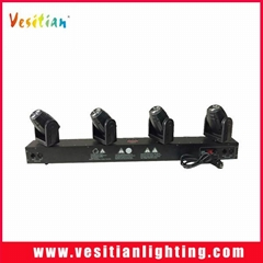 LED Four head beam moving bar