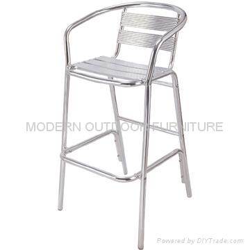 outdoor bar furniture aluminum bar stools china manufacturer