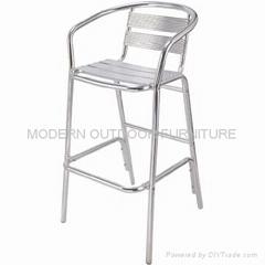 Outdoor bar furniture -Aluminum bar stools