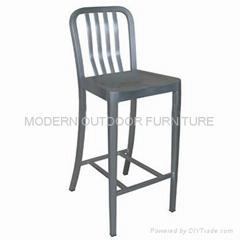 Navy Furniture Aluminum Navy barstools