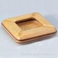 木制烟灰缸