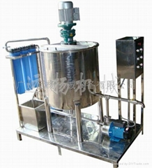 shampoo production equipment