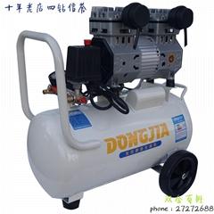 空压机气泵无油静音小型空气压缩机配件