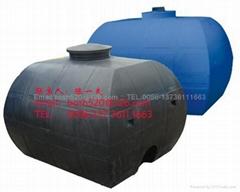 Horizontal Plastic Tanks