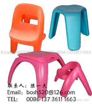 Plastic Tablet Chairs 1