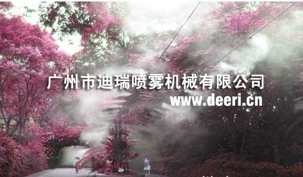 PM2.5城市空氣淨化水霧降塵裝置 1