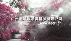 PM2.5城市空氣淨化水霧降塵裝置