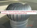 Fluorocarbon coating aluminum alloy