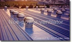 Rooftop Industrial Turbine Ventilators