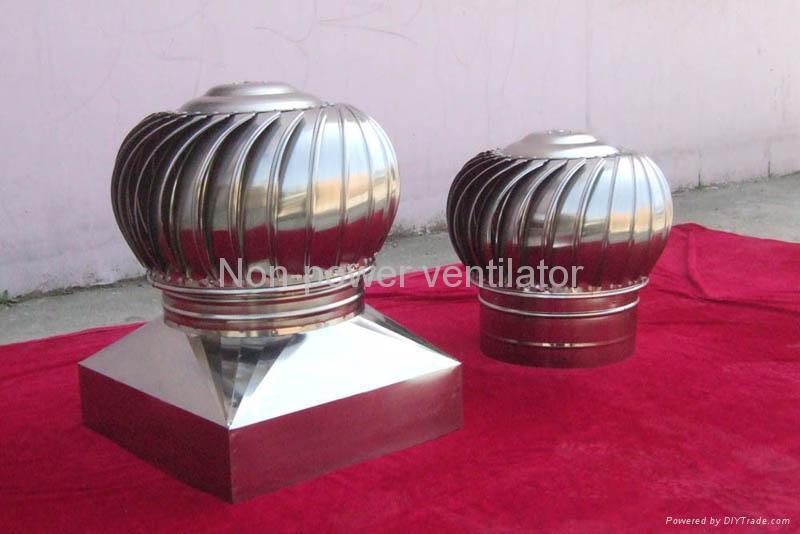 Rooftop Turbo Powerless Ventilator 4