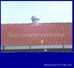 Wind-driven Turbine Rooftop Ventilator
