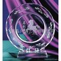 水晶盘|水晶纪念盘|水晶纪念品