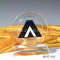 佛山,中山企业奖杯水晶奖杯 创新水晶奖牌 4