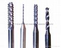 鋁基板銑刀密齒PCB銑刀鑽嘴