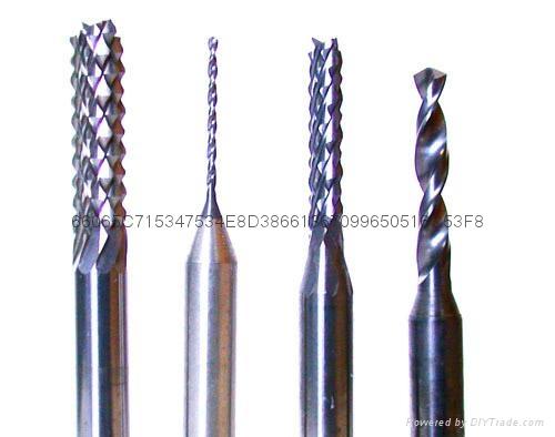 二手銑刀鑽嘴鎢鋼PCB銑刀鎢鋼PCB鑽嘴 1