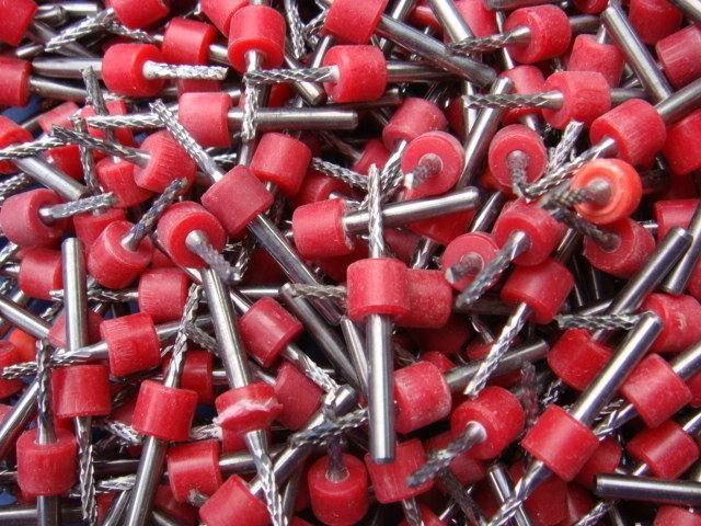 密齒銑刀菠蘿紋銑刀PCB耗材PCB銑刀鑽頭 2