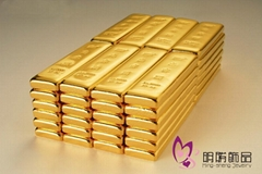 Gold bullion samples (gold bullion counterfeits)