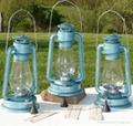 D80 Hurricane Lantern / Lacquer Blue