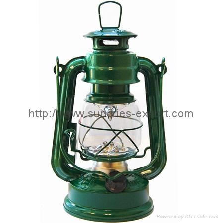 245 LED Hurricane Lantern (12 LED Bulbs)