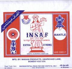 INSAF Gas Mantles