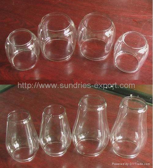 Hurricane Lantern Glass Globes