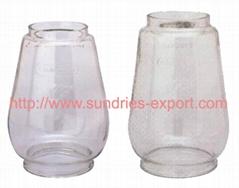 Hurricane Lantern Glass Globes / BAT Globes / CHALWYN Globes