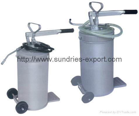 Heavy Duty High Volume Grease Pump Bucket Greaser - 16L 2